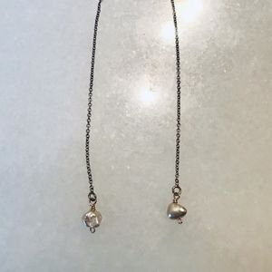 Jewelry - light pink real handmade earrings